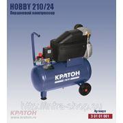 Поршневой компрессор с прямой передачей Кратон Hobby 210/24 фото