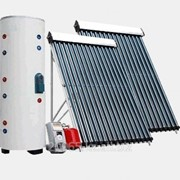 Солнечная тепловая система CH-16 для нагрева воды 500 литров фото