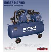 Поршневой компрессор с ременной передачей Кратон Hobby 440/100 фото