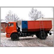 Снегоплавильная машина УМС-М1000 на шасси КамАЗ фото