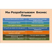Составление бизнес плана, бизнес-планирование, разработка бизнес-плана, Алматы, Астана, Актау, РК