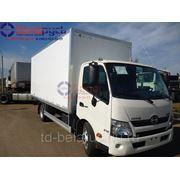 фургон изотермический на шасси hino 300 Series xzu720l фото