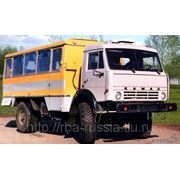 Вахтовый автобус специальный НЕФАЗ-42111-10-11 на КамАЗ 4326 4х4 фото