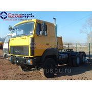 тягач маз 6x6 полноприводный на двухскатной ошиновке МАЗ 642508-233 6х6 в Красноярске фото