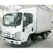 Автофургон Isuzu NLR 85 A с фургоном- изотермический, ромтоварный, сэндвич (фургон исузу)
