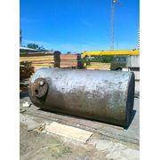 Емкость б/у горизонтальная стальная на 3 м3 (РГС-3) фото