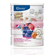 Kabrita 2 800г Смесь на основе козьего молока для детей от 6 месяцев до 1 года. фото