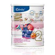 Kabrita 2 400г Смесь на основе козьего молока для детей от 6 месяцев до 1 года. фото