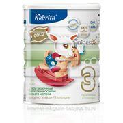 Kabrita 3 400г Сухой молочный напиток для малышей старше 12 месяцев. фото