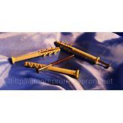 Дюбель WAVE 6х70 mm потай быстрого монтажа с ударным шурупом - ISO 9001 фото