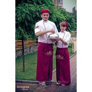 Пошив поварских костюмов фото