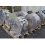 Нержавеющая стальная лента ( пр-ва Германия ) 0,2мм*400мм материал: 1,4310 (AISI 301, 12Х18Н9 ) нагартовка фото
