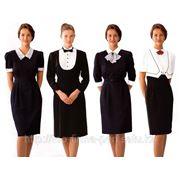 Одежда для горничных и обслуживающего персонала отелей гостиниц фото