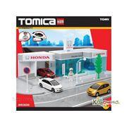 Игровые наборы: гонки, треки, парковки TOMY Гараж Honda с машинками [85305] фото