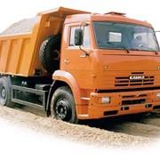 Заказ и доставка сыпучих материалов,от 1 до 10 тонн. фото