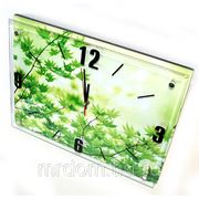 Часы на батарейках ветки клена 38х28 см. (855896) фото