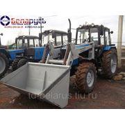 трактор беларус мтз 1221.2 с погрузчиком атлант грузоподъемностью 1,5 т. объёмом ковша V=1,5 куб.м фото