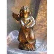 Бронзовая скульптура Ангел фото