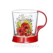 Кружка для чая ягода малина (1606-д) (869427) фото