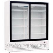 Холодильный шкаф со стеклянными дверьми-купе DUET G2-1,5 0...10 фото
