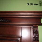 Эксклюзивные двери из массива дерева фото