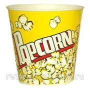 Стакан для попкорна бумажный V 85 фото