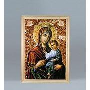 21*30см картина с дерев. рамкой (икона) (779485)