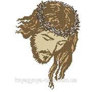 Набір для вишивки бісером Ісус в терні. Арт. КРМ-2ч фото