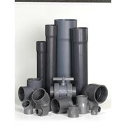 Трубы и фасонные части из ПВХ для напорного водоснабжения фото