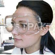Очки защитные ОЗОН закрытого типа, прямая вентиляция фото