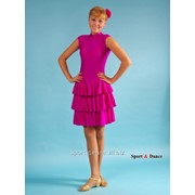 Платье спортивное для бальных танцев Р 4.5 Альера фото