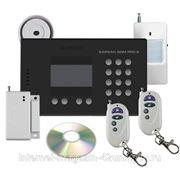 Охранная GSM сигнализация с беспроводными датчиками и термодатчиками Sapsan GSM Pro 6 фото