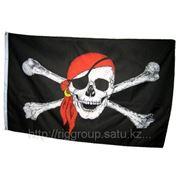Флаг пиратов фотография