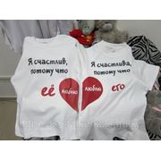 Сублимация А4 формата на футболки фото