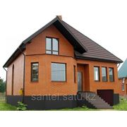 Строительство домов, коттеджей фото