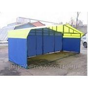 Палатка торговая, разборная «Домик» 6 х 2 фото