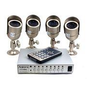 Установка, монтаж видеокамер, прожекторов с датчиками
