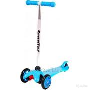 Самокат Scooter Maxi Sports,(синий) фото