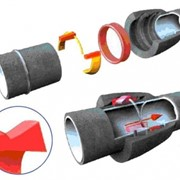 Труба ЧШГ под соединение RJ «VRS» с лаковым покрытием фото