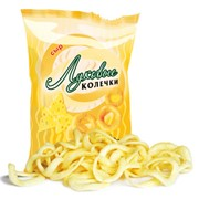 Луковые колечки с сыром