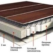 Плиты и панели с сотовым внутренним слоем фото