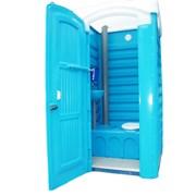 Туалетная кабина укомплектованная фото