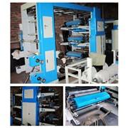 Шестицветная флексопечатная машина YT-6800 фото