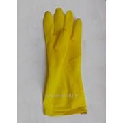 Латексные перчатки безворсовые фото