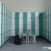 Шкафы металлические для производственных и спортивных раздевалок фото
