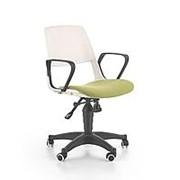 Кресло компьютерное Halmar JUMBO (белый/зеленый) фото