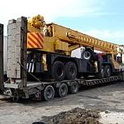 Перевозка строительного оборудования фото