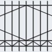 Заборы металлические фото