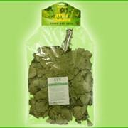 Веник банный с травами – дуб «Экстра» с душицей в индивидуальной упаковке фото