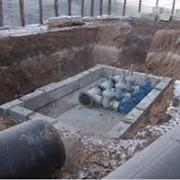 Возведение канализационной насосной станции фото